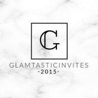 Glamtastic Invites